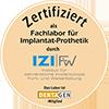 IZI Zertifizierung